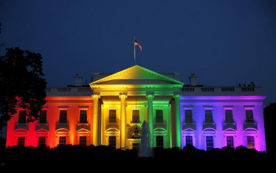 rainbow whitehouse